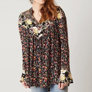 Free People Tops - ⚡HOST PICK⚡ Free People Floral Tunic Top
